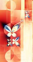 butterflies at my window