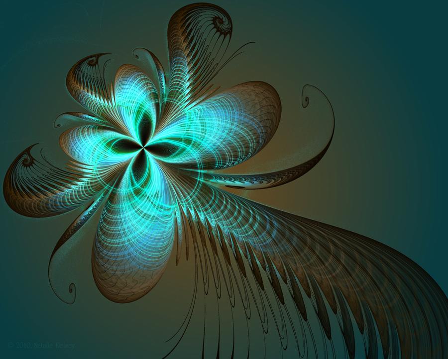 Peacock Lotus by NatalieKelsey