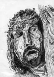 Jesus holding his cross part 2 by djpailo