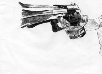 Gun by djpailo