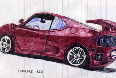Ferrari 360 by djpailo