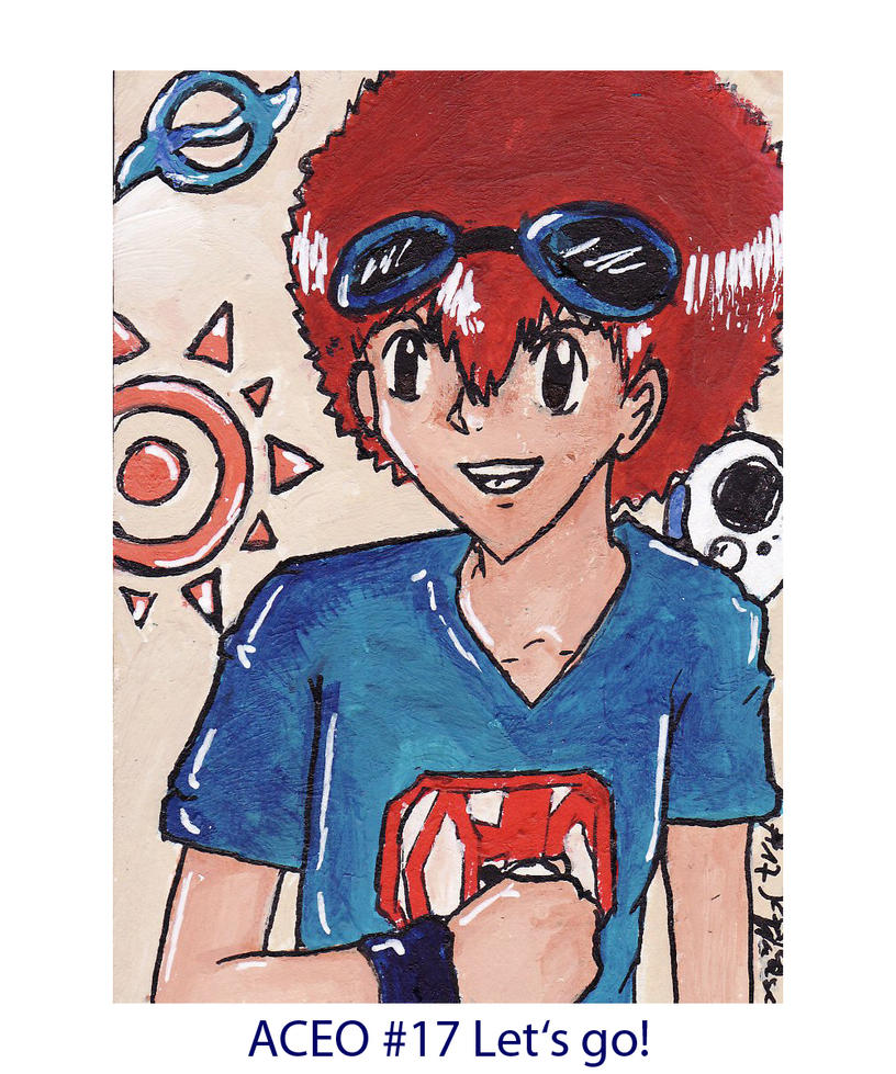 ACEO no.17 Let's go by nuddelsuppenfreak