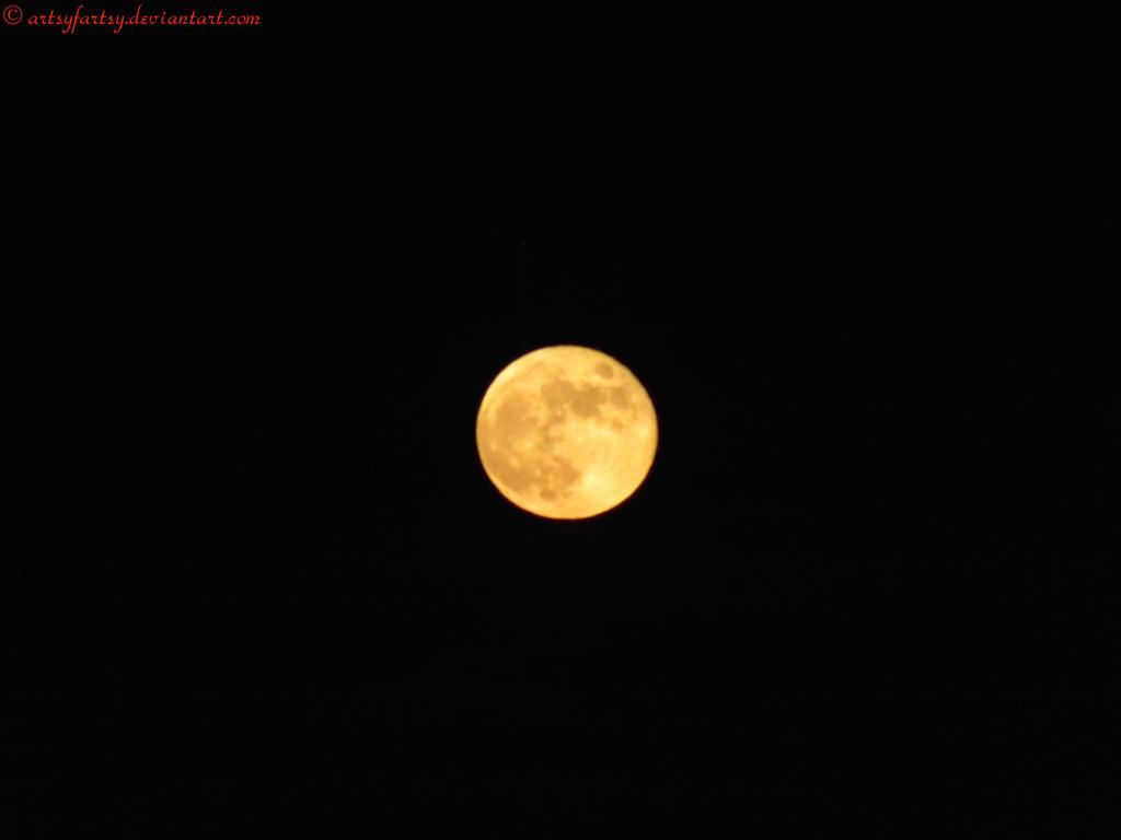 Full Moon by artsyfartsy