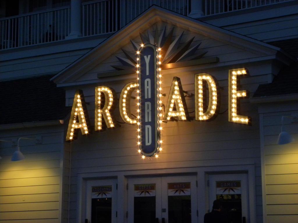 Disney boardwalk arcade. by artsyfartsy