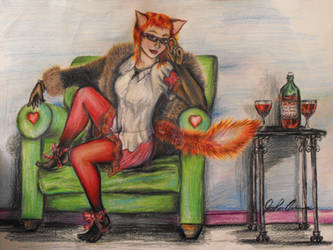 The lounging Foxy one