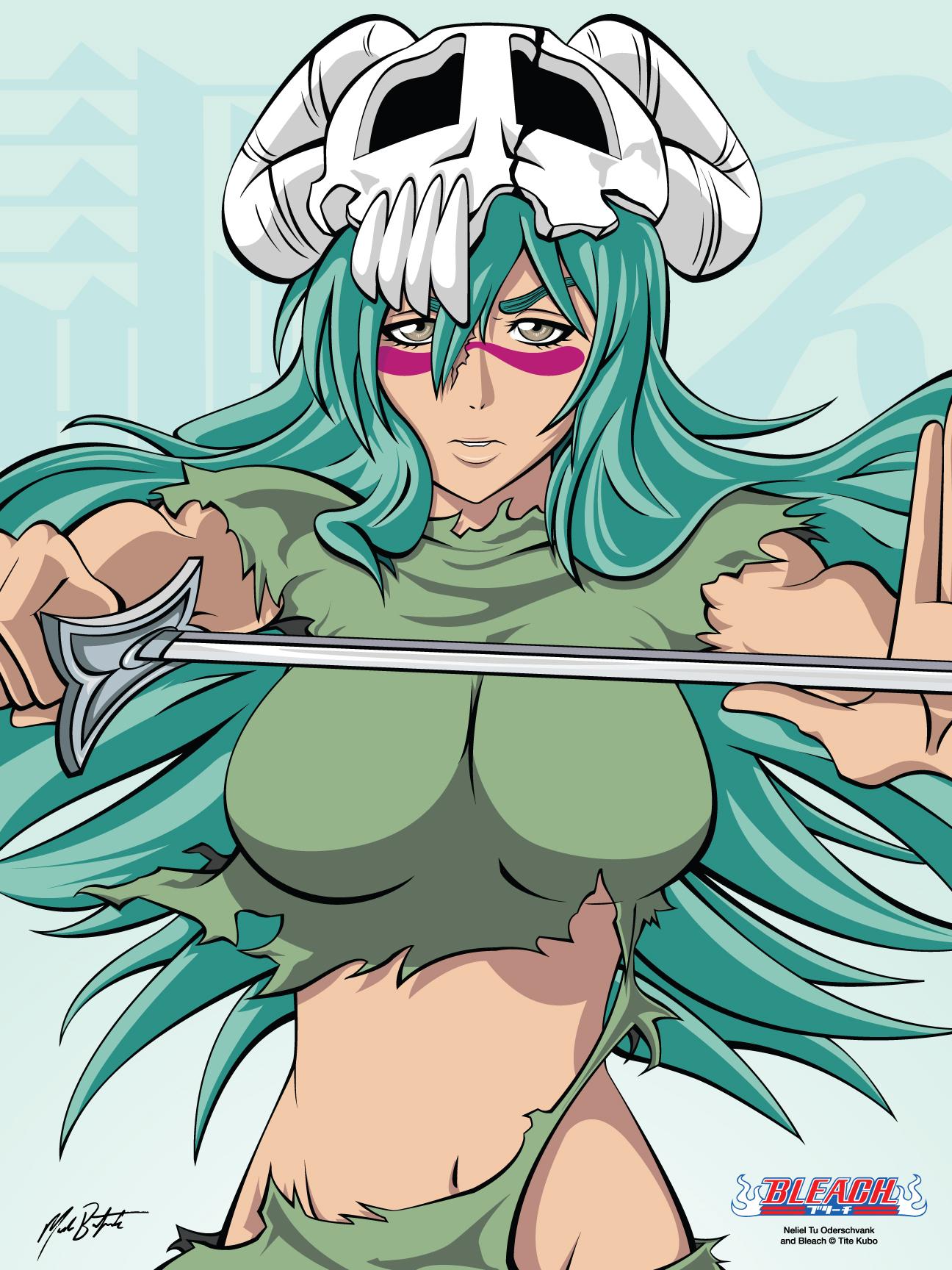 """""""Dragon that never died"""" Aglaraerose ID Neliel_tu_oderschvank__declare_by_animemagix"""