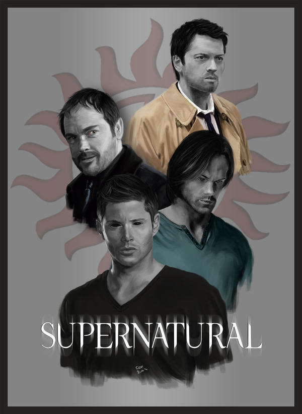 Supernatural season 10 poster. by firatbilal on DeviantArt