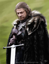 Game of Thrones - Eddard 'Ned' Stark by firatbilal