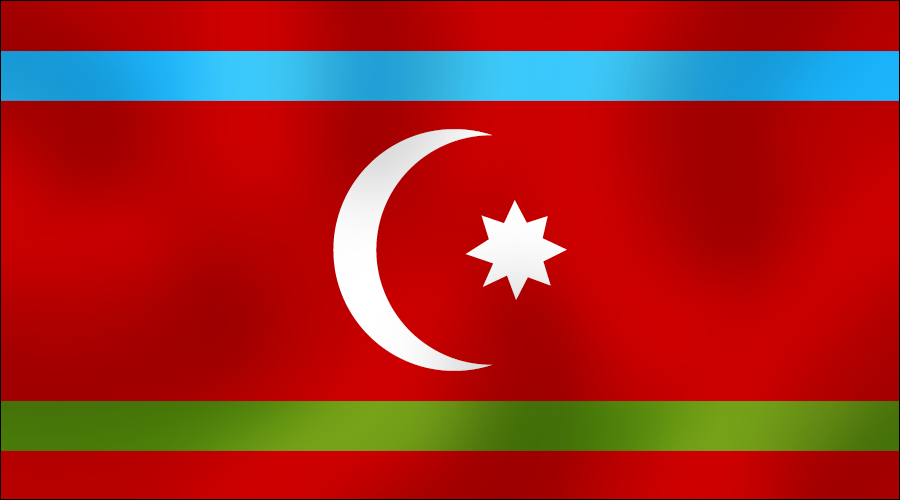 Flag of Turks of Iran by AY-Deezy on DeviantArt.