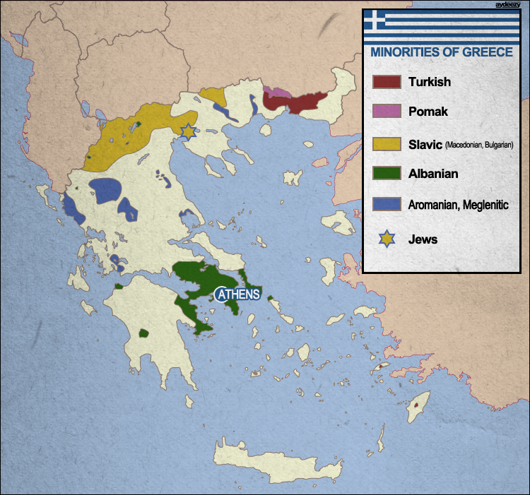 Minorities of Greece by AYDeezy on DeviantArt