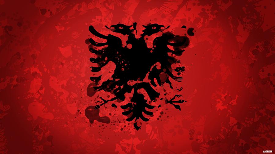 Albanian Flag By AYDeezy On DeviantArt - Albanian flag