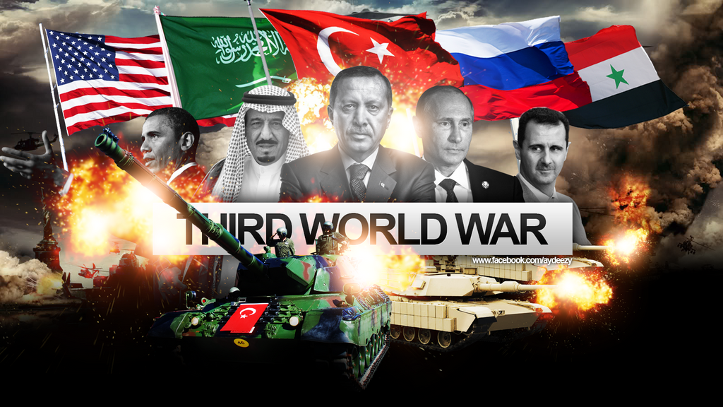 third world war Bloomberg news reports that russian state television is back on a war footing, as tensions over the collapse of the syrian ceasefire mount.