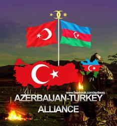 Azerbaijan Turkey Alliance by AY-Deezy
