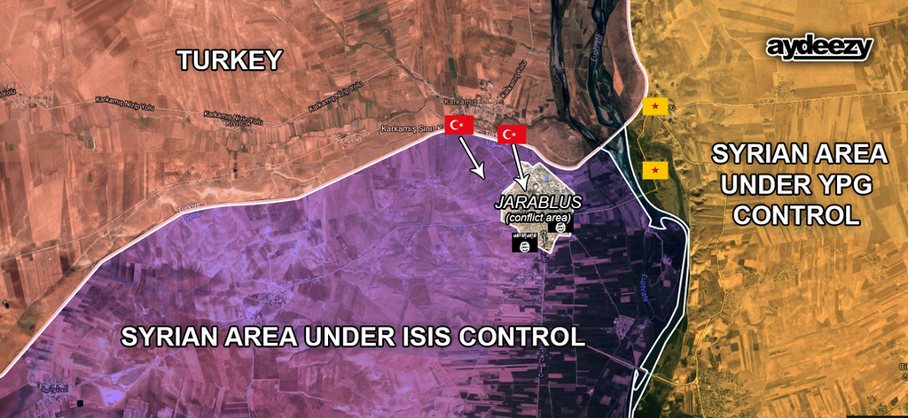 IS conflict: Turkey-backed Syrian rebels 'take Jar by AY-Deezy