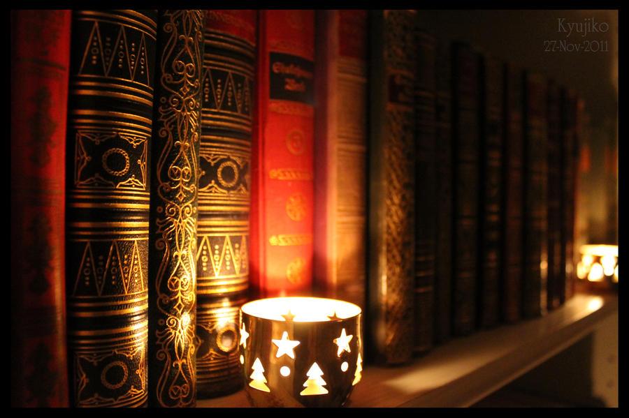 The Old Bookshelf by Kyujiko