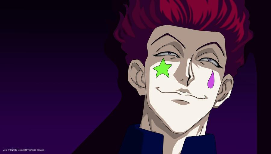 Oh Hisoka   sniffs fin...
