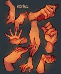 Hand Studies no.2