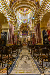 Inside the Metropolitan Cathedral of Saint Paul by BlackSunRising