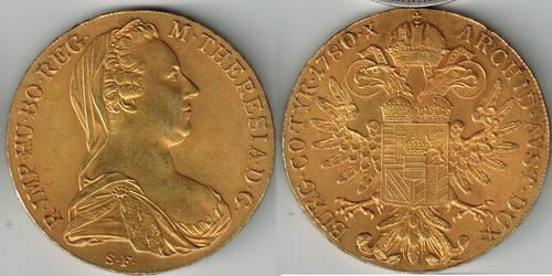 Maria Theresa Thaler 1780