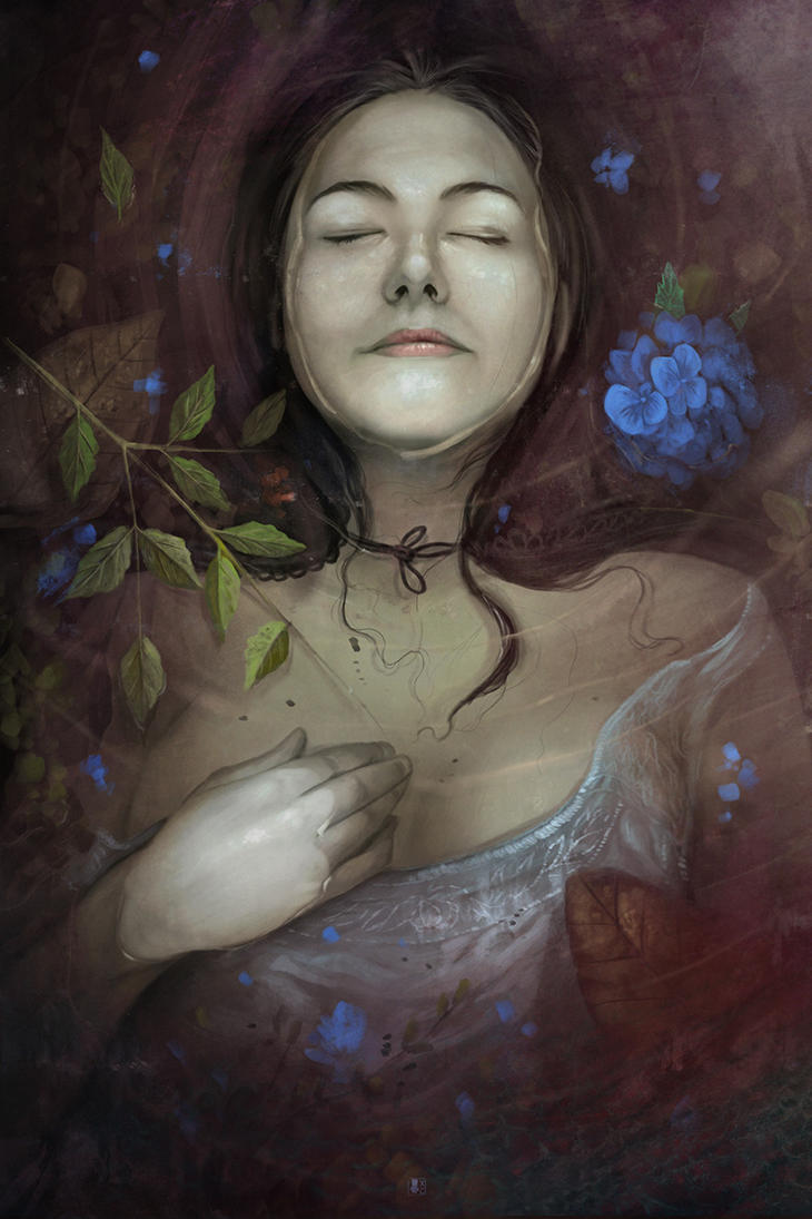 My Ophelia by Coliandre