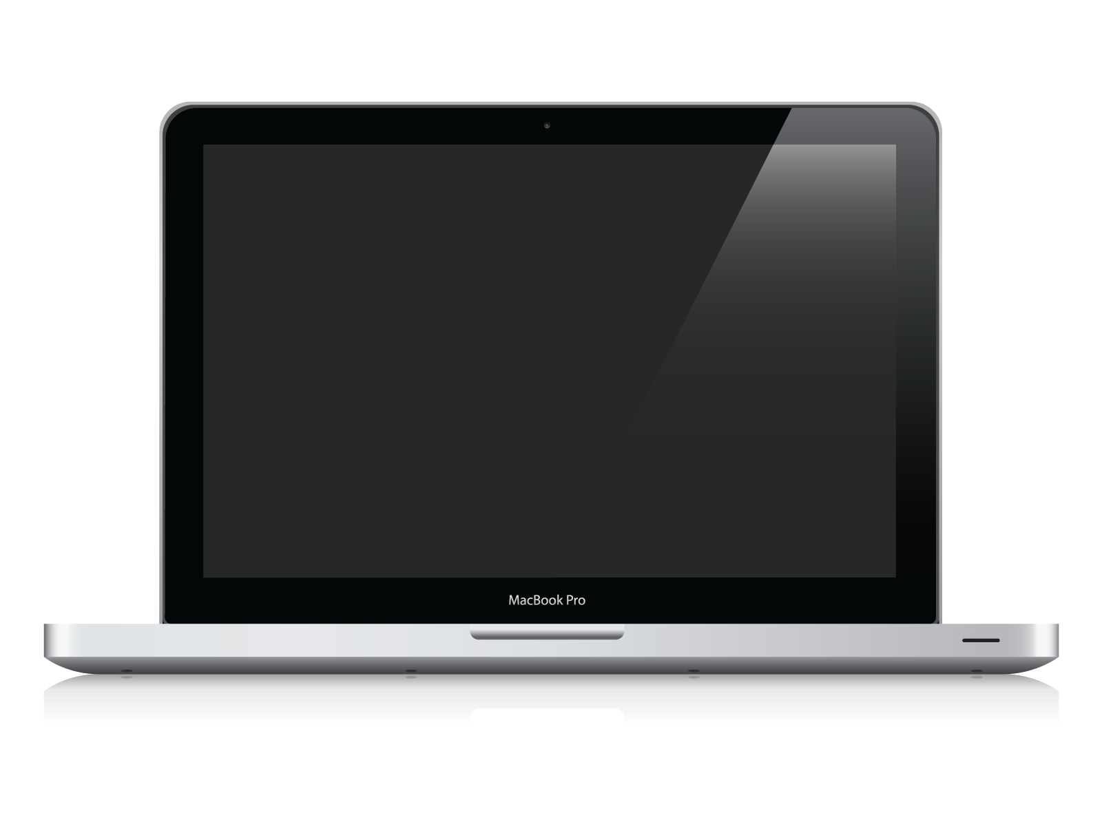 MacBook Pro Vector by black--werewolf on DeviantArt