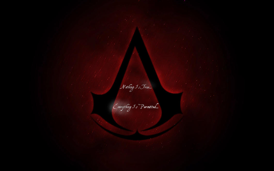 Assassins Creed Logo 2 By Wallpaper Nothing Is True