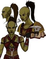 Sloanne Thunderhowl by Timelady-Saxon
