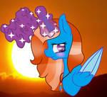 Sunrise Sparkle Fan Art by OhLilyLover