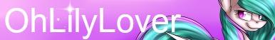 Lily Fan Button by OhLilyLover