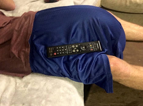 Lost the remote, not really