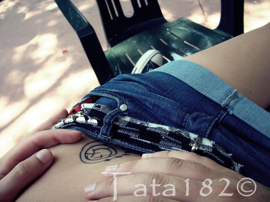 My blink 182's tattoo 182