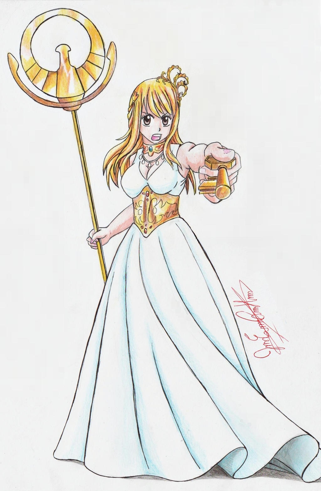 Fairy tail lucy athena by joakoart25 on deviantart - Lucy fairy tail drawing ...