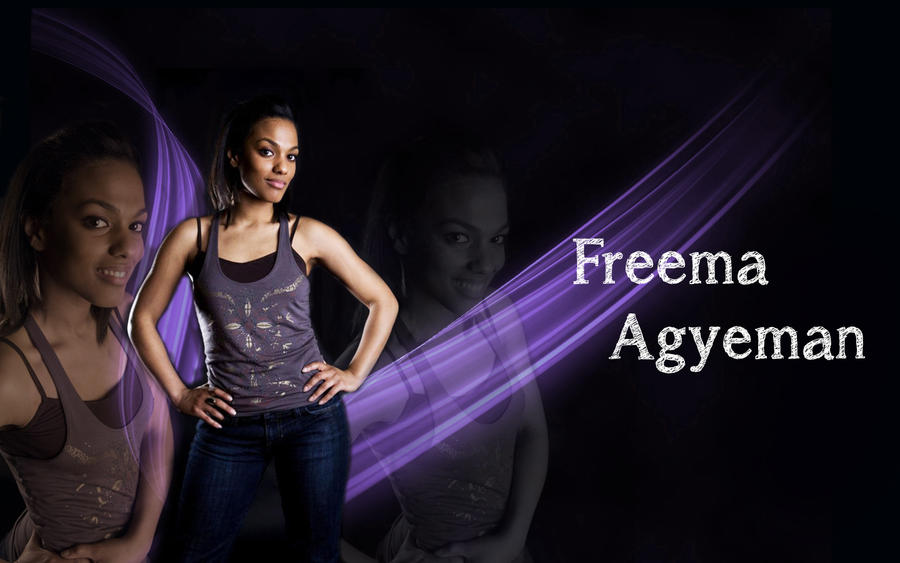 freema agyeman wallpaper by ambrixmuse on deviantart