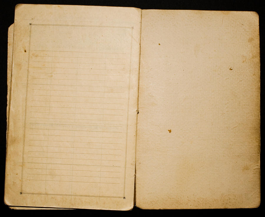 old yellowed paper by fL0urish