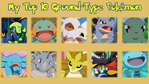 My Top 10 Ground-Type Pokmon