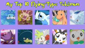 My Top 10 Flying-Type Pokmon