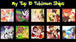 My Top 10 Pokmon Ships by Midnight3Wonder