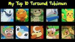 My Top 10 Personal Pokemon by Midnight3Wonder
