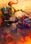 Warhammer 40k Fight