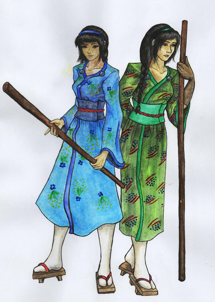 Yasuki Twins by OcelotDesigns