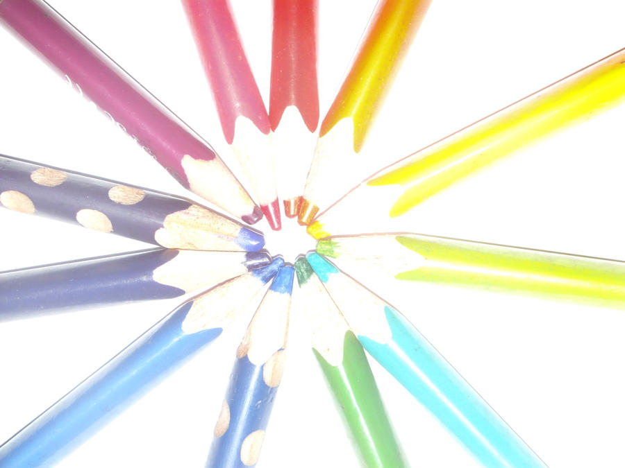 My Pens Colour Circle by MrsSoniku63