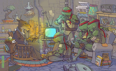 TMNT by MikeLancetteArt