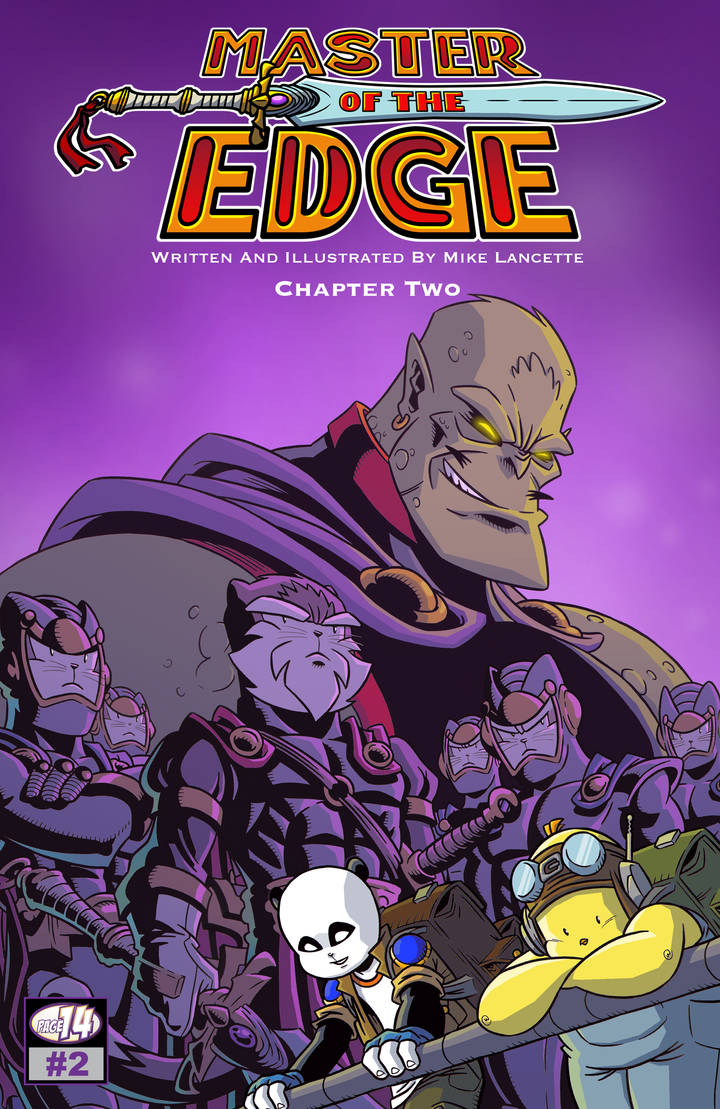 Master Of The Edge - Issue 2 by MikeLancetteArt