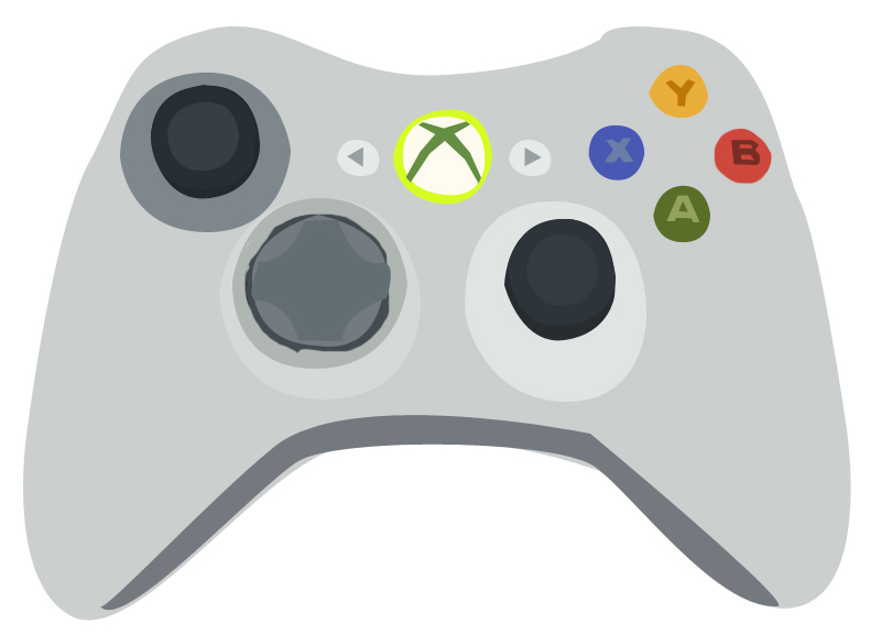 Xbox 360 Controller Vector by KayBran on DeviantArt Xbox One Vector
