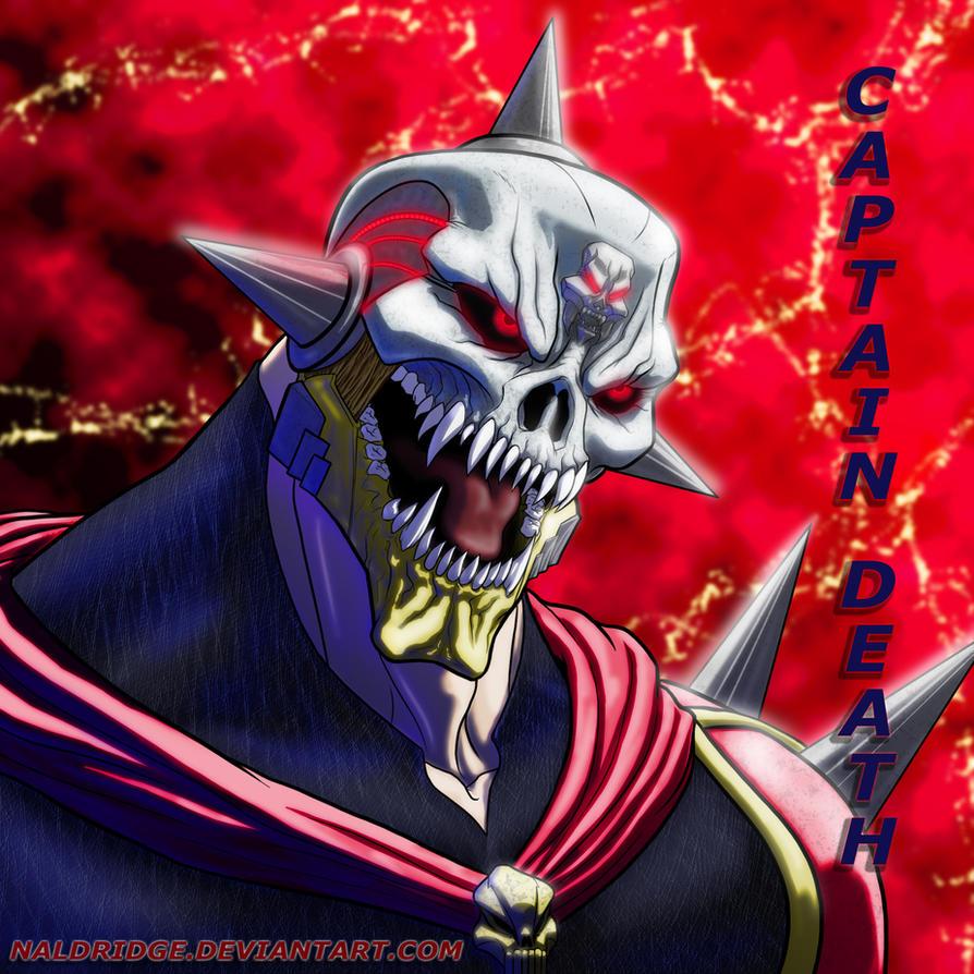 Captain Death Super Villians Edition V1 by naldridge