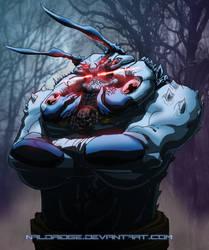 Ant Inspired Villain OC- Any name suggestions? by naldridge