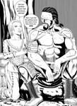 Skyrim Tales: Scars? You mean, ''Man Tattoos''.