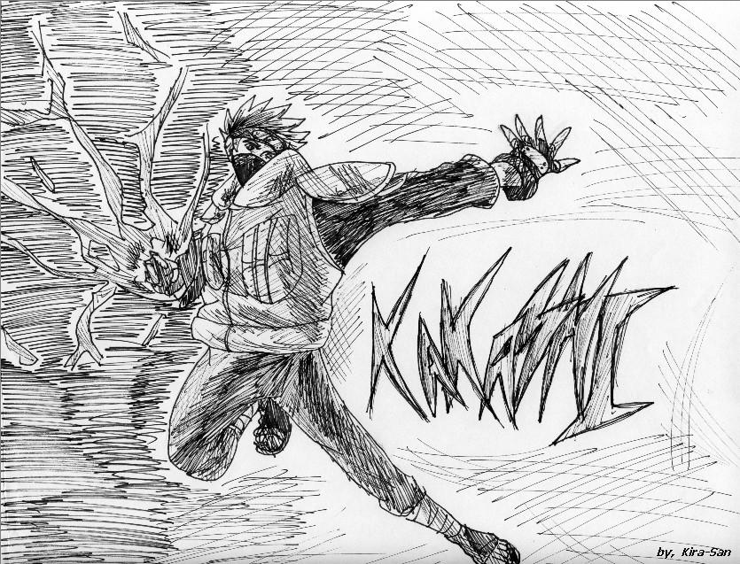 Kakashi Chidori Original By 10kk On DeviantArt