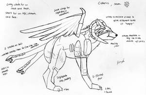 Nora, Ceberus Quadsuit concept by 10kk