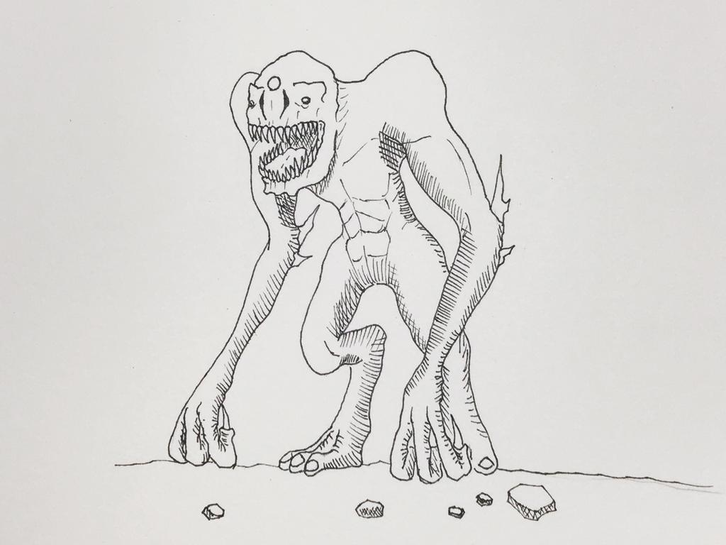 Knuckledragger by OrionMagnus